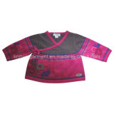 Children Knitted Long Sleeve Sweater with Fashion Clothing (C15-032)