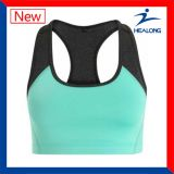 Healong Pure Color Sports Gear Apparel 100% Cotton Ladies Fitness Running Bras