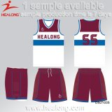 Healong China Wholesale Apparel Gear Any Logo Sublimation Men's Basketball Uniforms