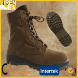 Outdoor Cow Leather Cheap Safety Shoe Military Desert Boots