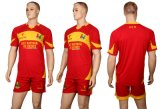 Cool Dry Material Sportswear of Soccer Uniforms for Teamwear