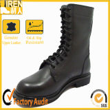 Factory Price Cow Leather Military Combat Boots