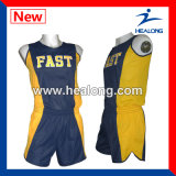 Healong Sportswear Sublimation Running Jersey for Man Teamwear