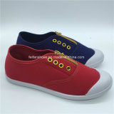 Hotsale Children Canvas Injection Shoes Leisure Footwear (GJ1710-1)