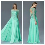 Plus Size Mother's Gowns A-Line Mint Green Mother of Bride Dresses Z3039