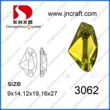 Dz-3062 Sew on Flat Back Glass Stones for Garment