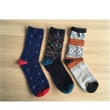 China Custom Cotton Sock Manufacturer Qd008