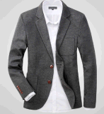 Top-Quality Men's Casual Fashion 2 Button Suit Jacket Blazer