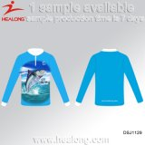 Healong Hot Sale Advertising Clothing Gear Sublimation Men's Fishing Jerseys