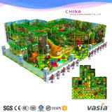 Jungle Theme Indoor Soft Playground for Children Plays