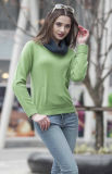 Ladies' Round Neck Cashmere Sweater (1500002069)