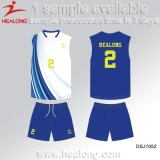Healong Customized Design Sportswear Sublimation Volleyball Jersey