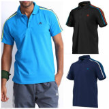 New Style Stripe Customized Men's Polo Shirts