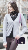 Women's Cardigan Cashmere Sweater (1500002049)