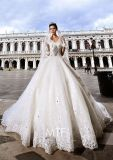 Sweetheart Luxury Bridal Ball Gowns Crystals Wedding Dresses Z1029