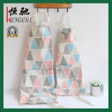 High Quality Cotton Cooking Apron with Full Color Print