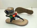 Bohemian Style Buckle Beading Women Sandals (WG27)