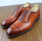 Luxury Materials Italy Leather Wedding Party Shoes for Men