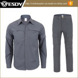 7-Colors Hunting Quick Dry Removable Combat Tactical Shirts Pants Clothing