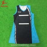 Healong Top Sale Sportswear Sublimation Printing Padded Netball Jersey