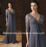 Blue Mother Dress Lace Long Formal Prom Evening Dresses mm2016