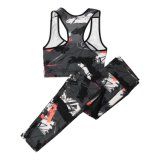 Quick-Dry Womens Fitness Set Yoga Set of Sportwear Underwear