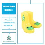 Customized Silicone Rubber Injection Antislip Waterproof Lovely Colorful Rain Shoes for Kids/Childrem