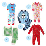 Colorful Organic Cotton Children's Sleepwear