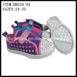 Newest Children Injection Canvas Shoes Casual Shoes (HH520-04)