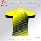 Healong China Cheap Price Sports Gear Any Sizes Sublimation Advertising Men's Polo Shirts