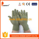 Ddsafety 2017 13 Gauge Bamboo Green Nylon Polyester Gloves