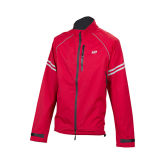 Bellwether Women Nylon Fabric Functional with Reflective Stripe Rain Cycling Jacket