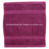 100% Egyptian Cotton Luxury 30X30cm 60g Hotel Hand Towel Washcloths