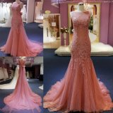 Fashion High-End Mermaid Lace Long Dress Evening Gown