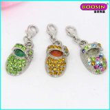 Wholesale Fashionable Crystal Cute Baby Shoe Charms Jewelry