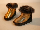 Fashio Glitler Fluffy Boot for Girls (TX 03)