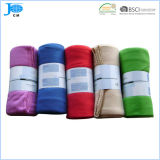 2018 Solid Color Polar Fleece Blanket Bedding Set