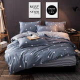 Home Textile Printed Cotton Fabric Bedsheet Duvet Cover Bedding Set